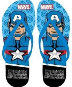 Chinelo Praia Avengers Capitão America Iron Man