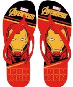 Chinelos de Praia Avengers do Iron Man