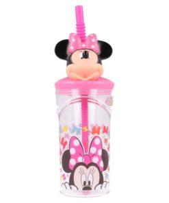 "Copo 3D Minnie 560ml ""Edgy Bows"" Minnie"