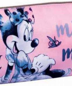 """Estojo Minnie Rosa e Cinza """"Poetic"""""""