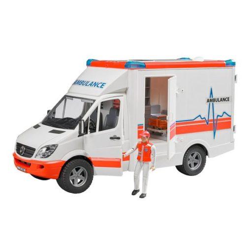Ambulância Bruder MB Sprinter com Figura