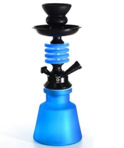 Cachimbo de Água 1 Mangueira Azul Mate Aros