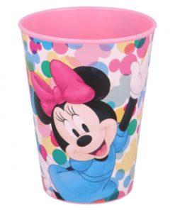 """Copo de Plástico """"Edgy Bows"""" Minnie"""