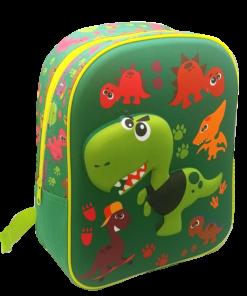 Mochila Infantário Crazy Dino3D Dinssauros