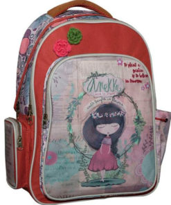 "Mochila Oval Anekke ""Earth Laughs in Flowers"""