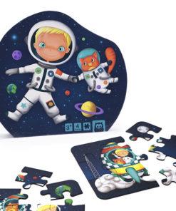 Puzzle Evolutivo E-Kids Astronauta 4 em 1