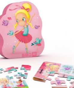 Puzzle Evolutivo E-Kids Bailarina 4 em 1