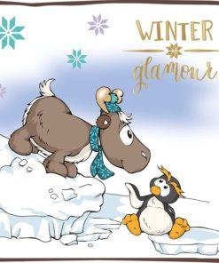 Winter - Pinguim Frizzy, Rena Reny Heart