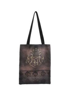 Bolsa Harry Potter Castanha Hogwarts