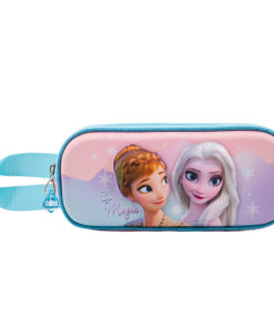 Estojo Duplo Frozen 3D Be Magic