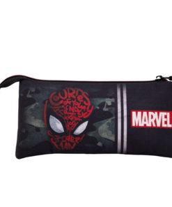 Estojo Triplo Spiderman Camuflagem Spidey
