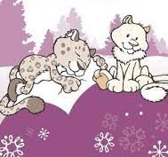 White World e Snow Dreams (Urso Polar e Leopardo)