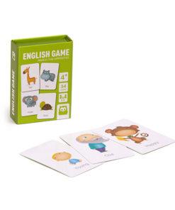 Jogo de Cartas E-Kids para Aprender Inglês