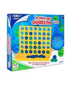 Jogo de Tabuleiro 4 em Linha Family Games