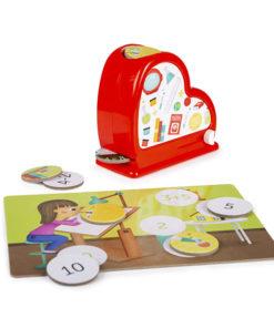Kit Matemática E-Kids com Dispensador
