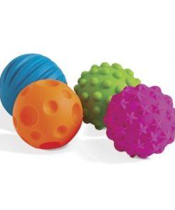 Mini Bolas Sensoriais E-Kids 6 Peças