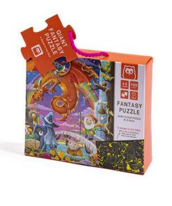 Puzzle Fantasia E-Kids Brilha no Escuro 100 Peças