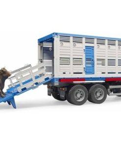 Scania Transporte de Gado com Animal Bruder