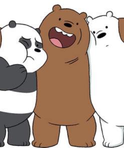 Porta Chaves Nós, os Ursos