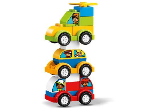 As minhas primeiras criações de veiculos 34 pcs LEGO