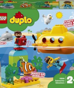 Aventura de Submarino - LEGO Duplo