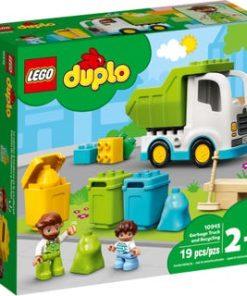 Camião do Lixo e Reciclagem - LEGO Duplo
