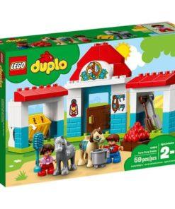 Estabulo dos Poneis da Quinta 59pcs Lego