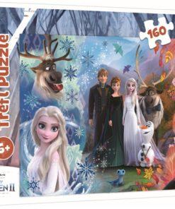Puzzle Frozen - 160 Pcs - Família